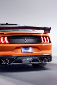 360x640 2020 Ford Mustang Shelby GT500 Rear