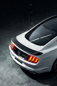 1280x2120 2020 Ford Mustang Upper View
