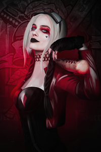 480x800 2020 Harley Quinn Margot Robbie 4k