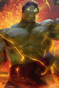 2020 Hulk Artwork 4k