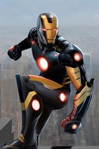 2020 Iron Man 4k Art