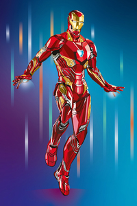 2020 Iron Man 4k Artwork