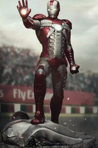 2160x3840 2020 Iron Man 4k