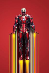 2020 Iron Man 4k New Art