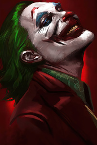 480x800 2020 Joker Always Smile 4k