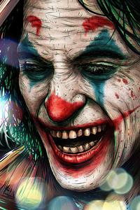 1080x2160 2020 Joker Smile 4k