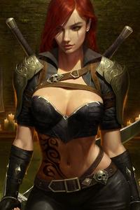 2020 Katarina League Of Legends Game 4k