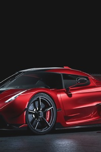 480x800 2020 Koenigsegg Jesko Cherry Red Edition 10