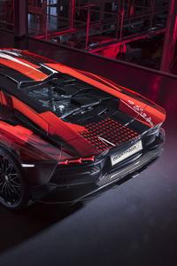 640x960 2020 Lamborghini Aventador S By Yohji Yamamoto 10k