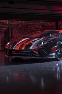 1242x2688 2020 Lamborghini Aventador S By Yohji Yamamoto