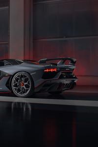 2020 Lamborghini Aventador SVJ 63 Roadster Rear