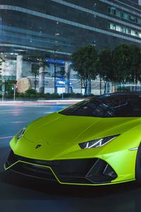360x640 2020 Lamborghini Huracan EVO Fluo Capsule