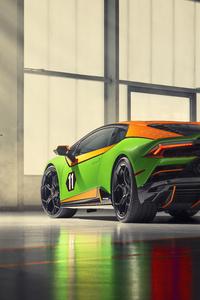 2020 Lamborghini Huracan Evo GT Rear