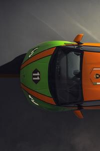 2020 Lamborghini Huracan Evo GT Upper View