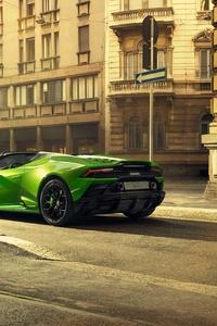 2020 Lamborghini Huracan Evo Spyder 5k