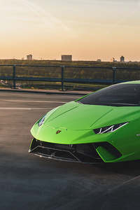 1242x2688 2020 Lamborghini Huracan Performante 4k Car