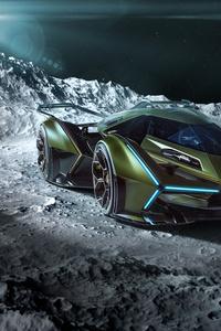 240x320 2020 Lamborghini Lambo V12 Vision Gran Turismo 8k