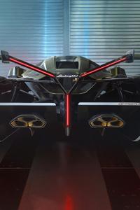 2020 Lamborghini Lambo V12 Vision Gran Turismo Rear