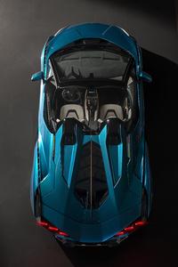 2020 Lamborghini Sian Roadster Upper