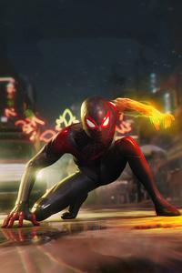 640x1136 2020 Marvels Spider Man Miles Morales New 4k