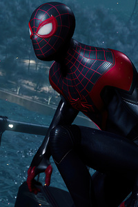 2160x3840 2020 Marvels Spider Man Miles Morales Ps5 4k