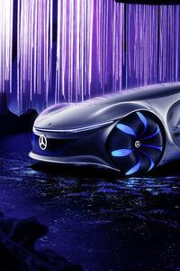 320x480 2020 Mercedes Benz Vision AVTR