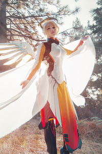 540x960 2020 Mercy Overwatch Cosplay 4k