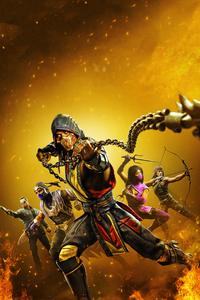 1080x1920 2020 Mortal Kombat 11 4k