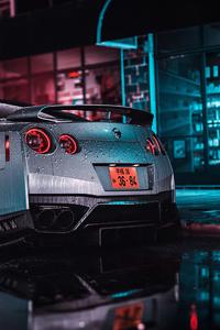 320x480 2020 Nissan Gtr 4k
