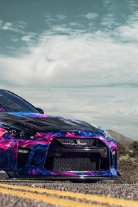 480x854 2020 Nissan GTR 4k New