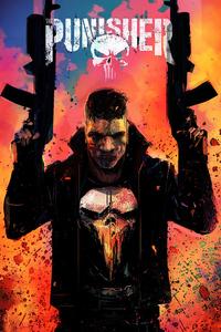 1125x2436 2020 Punisher 4k