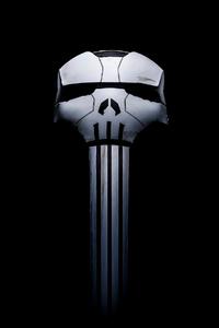 480x854 2020 Punisher Logo 4k