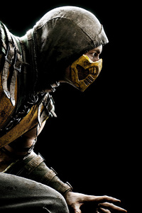 360x640 2020 Scorpion Mortal Kombat 4k