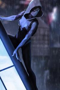 2020 Spider Gwen Artwork 4k