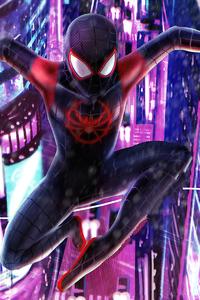 2020 Spider Man Miles 4k Art