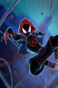 2020 Spider Man Miles Art