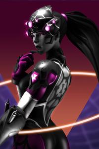 320x480 2020 Widowmaker Overwatch 8k