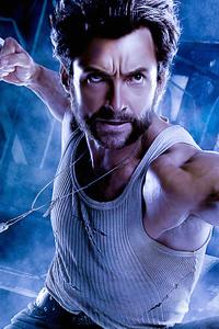 320x568 2020 Wolverine 4k