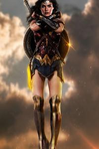 240x400 2020 Wonder Woman 4k