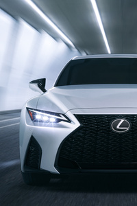 1080x2160 2021 2020 Lexus IS 350 F Sport 8k