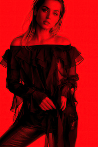1125x2436 2021 Ana De Armas Flaunt Magazine 4k