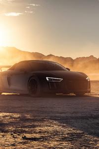 540x960 2021 Audi R8 Dry Lake 5k