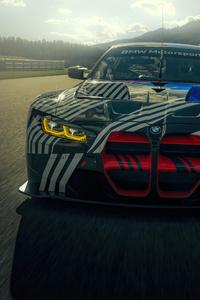 2160x3840 2021 BMW M4 GT3 5k