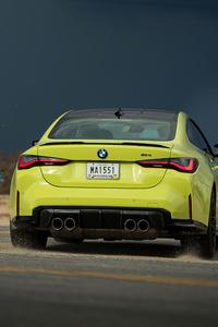 1080x1920 2021 BMW M4 Neon 5k