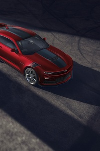 1440x2960 2021 Chevrolet Camaro Wild Cherry Design Package