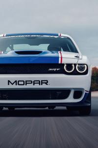 640x1136 2021 Dodge Challenger Mopar Drag Pak 5k