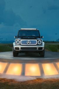 750x1334 2021 Electric Mercedes Benz Concept EQG 10k