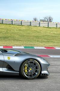 1080x2160 2021 Ferrari 812 Special Edition 4k
