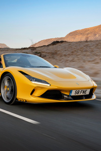 640x1136 2021 Ferrari F8 Spider
