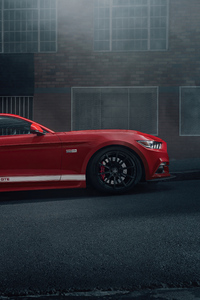 2160x3840 2021 Ford Mustang 50 Gt Race Red 5k